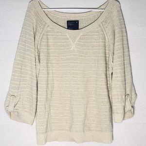 American Eagle 3/4 Sleeve Lightweight Sweater
